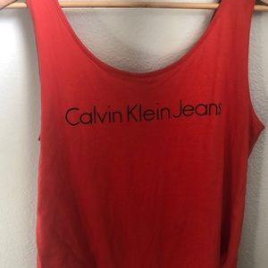 Calvin Klein Tank Bodysuit